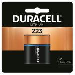 Duracell Distributing Nc 12210 Lithium Photo Battery, 223, 6-Volt