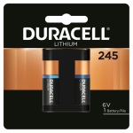 Duracell Distributing Nc 12410 Lithium Photo Battery, Size 245, 6-Volt