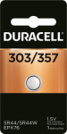 Duracell Distributing Nc 13009 Silver Oxide Watch Battery, #303/357, 1.5-Volt
