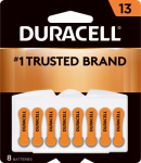 Duracell Distributing Nc 00277 Hearing Aid Battery, #13, 8-Pk.