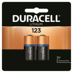 Duracell Distributing Nc 21210 Lithium Photo Battery, #123, 3-Volt, 2-Pk.