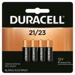 Duracell Distributing Nc 65868 Alkaline Keyless Entry Battery, #21, 12-Volt, 4-Pk.