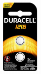 Duracell Distributing Nc 66295 Lithium Battery, #1216, 3-Volt, 2-Pk.