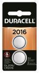 Duracell Distributing Nc 66385 Lithium Keyless Entry Battery, #2016, 3-Volt, 2-Pk.