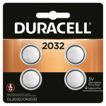Duracell Distributing Nc 66391 Lithium Battery, 2032, 3-Volt, 4-Pk.