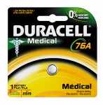 Duracell Distributing Nc 66445 Alkaline Home Medical Battery, PX76A/675, 1.5-Volt