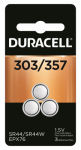 Duracell Distributing Nc 67448 Silver Oxide Watch Battery, #303/357, 1.5-Volt, 3-Pk.