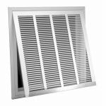 American Metal Products 326W20X25 20x25 WHT Air Grille