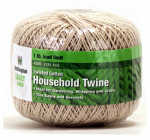 Wellington Cordage 15661 Household Twine, Twisted Cotton, Natural Color, 430-Ft.