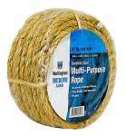 Wellington Cordage 18090 Rope, Multi-Purpose, Economy Twisted Sisal, Natural Fiber, 87-Lb. Load, 3/8-In. x 50-Ft.