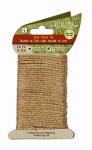 Wellington Cordage JTT16 Jute Twine, Twist Tie, Biodegradable, 16-Ft.