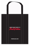 1 Bag At A Time-Import 0101-35TVB TV BLK Re-Use Shop Bag