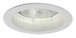 Cooper Lighting 5000P Halo Recessed Trim & Open Splay, White, 5-In.