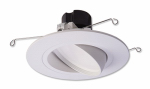 Cooper Lighting RA5606930WHR LED Retrofit Trim & Gimbal, White, 10-Watt, 5 to 6-In.
