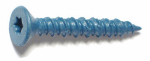 Midwest Fastener 51228 Masonry Screw, 1/4 x 1-3/4-In. Star Flat Head, 100-Pk.