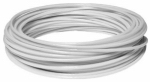 Hillman Fasteners 122066 Clothesline Wire, Plastic Coated, White, 100-Ft.