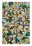 Artscape 01-0142 Window Film, Summer Magnolia, Self-Static, 24 x 36-In.