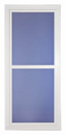 Larson Mfg 14604032 Easy Vent Selection Storm Door, Full-View Glass, White, 36 x 81-In.