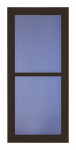 Larson Mfg 14604042 Easy Vent Selection Storm Door, Full-View Glass, Brown, 36 x 81-In.