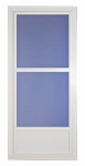Larson Mfg 14606032 Easy Vent Selection Storm Door, Mid-View Glass, White, 36 x 81-In.