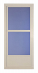 Larson Mfg 14606082 Easy Vent Selection Storm Door, Mid-View Glass, Almond, 36 x 81-In.