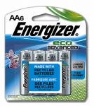 "Eveready Battery XR91BP-6 EcoAdvanced Batteries, ""AA"", 6-Pk."