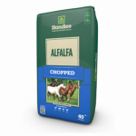 Standlee Hay 1100-70101-0-0 Forage, Chopped Alfalfa, 40-Lb. Bag
