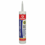 Red Devil 0826 10.1OZ CLR or Clear or Cleaner Silic Caulk