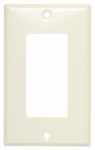 Mulberry Metals 84401 Steel Wall Plate, 1-Gang, GFCI Opening, Ivory