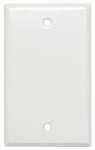 Mulberry Metals 86151 Steel Wall Plate, Blank, White