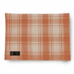 Myles International TCY60345PM American Plaid Placemat (Burnt Orange/Beige)