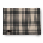 Myles International TCY60390PM American Plaid Placemat (Black/Beige)