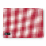 Myles International TCY60556PM Mini-Gingham Check Placemat (Red/White)