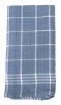 J & M Home Fashions 7393 2PK BLU Kitchen Towel