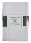 J & M Home Fashions 7420 3PK WHT Flour Sac Towel