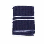 J & M Home Fashions 10560 4PK 13x13 BLU Dis Cloth
