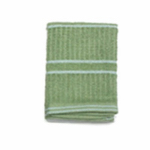J & M Home Fashions 10562 4PK 13x13 GRN Dis Cloth