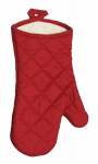 J & M Home Fashions 7465 7x13 RED Oven Mitt