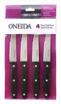 Robinson Home Products 55211 Steak Knives, Triple Rivets, 4-Pc. Set