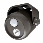 Wireless Environment MB310 LED Mini Spot Light, Motion & Light Sensing, 80 Lumens, Brown