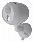 Mr Beams/Wireless Environment MB330-WHT-01-04 Motion-Sensing Spot Light, Wireless, 140 Lumens, White