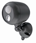 Wireless Environment MB360-BRN-01-04 Motion-Sensing Spot Light, Wireless, 140 Lumens, Brown