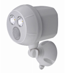 Mr Beams/Wireless Environment MB380-WHT-01-04 LED Motion-Sensing Spot Light, Ultra Bright, Wireless, 400 Lumens, White