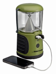 Wireless Environment MB470-GRN-01-04 LED Lantern With USB Charger, Ultra Bright, 260 Lumens, Green