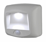 Mr Beams/Wireless Environment MB530-WHT-01-02 LED Stair & Deck Light, Motion-Sensing, 35 Lumens, White