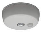 Mr Beams/Wireless Environment MB980-WHT-01-02 LED Motion-Sensing Ceiling Light, Wireless, 100 Lumens
