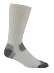 Wigwam Mills F1369-051-XL Rigger Work Socks, White, XL
