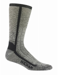 Wigwam Mills F1374-057-MD At Work Foot Guard Sock Size Medium Charcoal