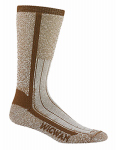 Wigwam Mills F1374-856-XL At Work Foot Guard Sock Size X-Large Desert Brown