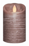 Sterno Home IGFT88105AB00 LED Flameless Candle, Rustic Acorn Brown, 3 x 5-In.